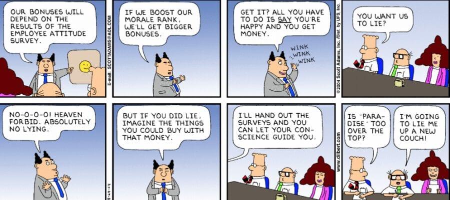2014-04-22 Dilbert comic on bonuses