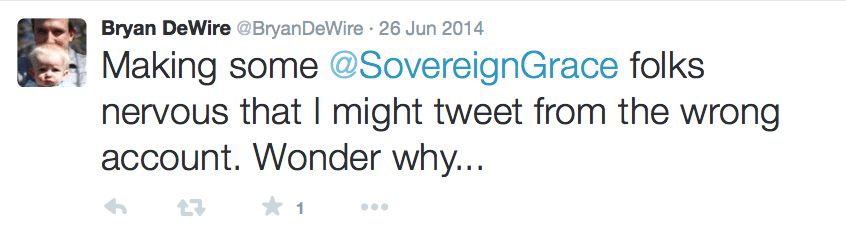 2015-08-11 DeWire hints all is not well at SGM