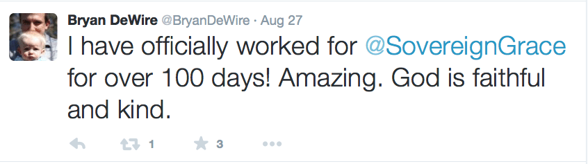 2015-08-11 DeWire thanks God 100 days into SGM job