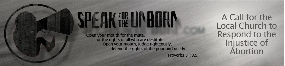 2015-08-12 Speak for the Unborn Logo
