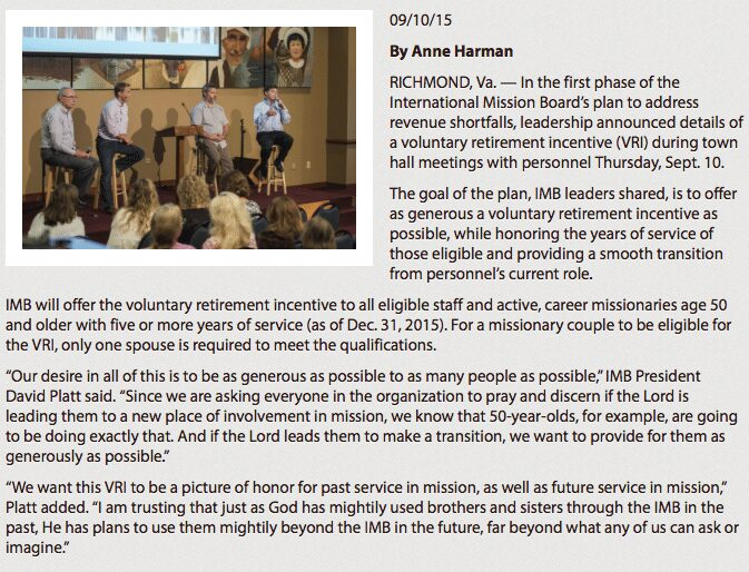 2015-09-12 IMB Voluntary Retirement