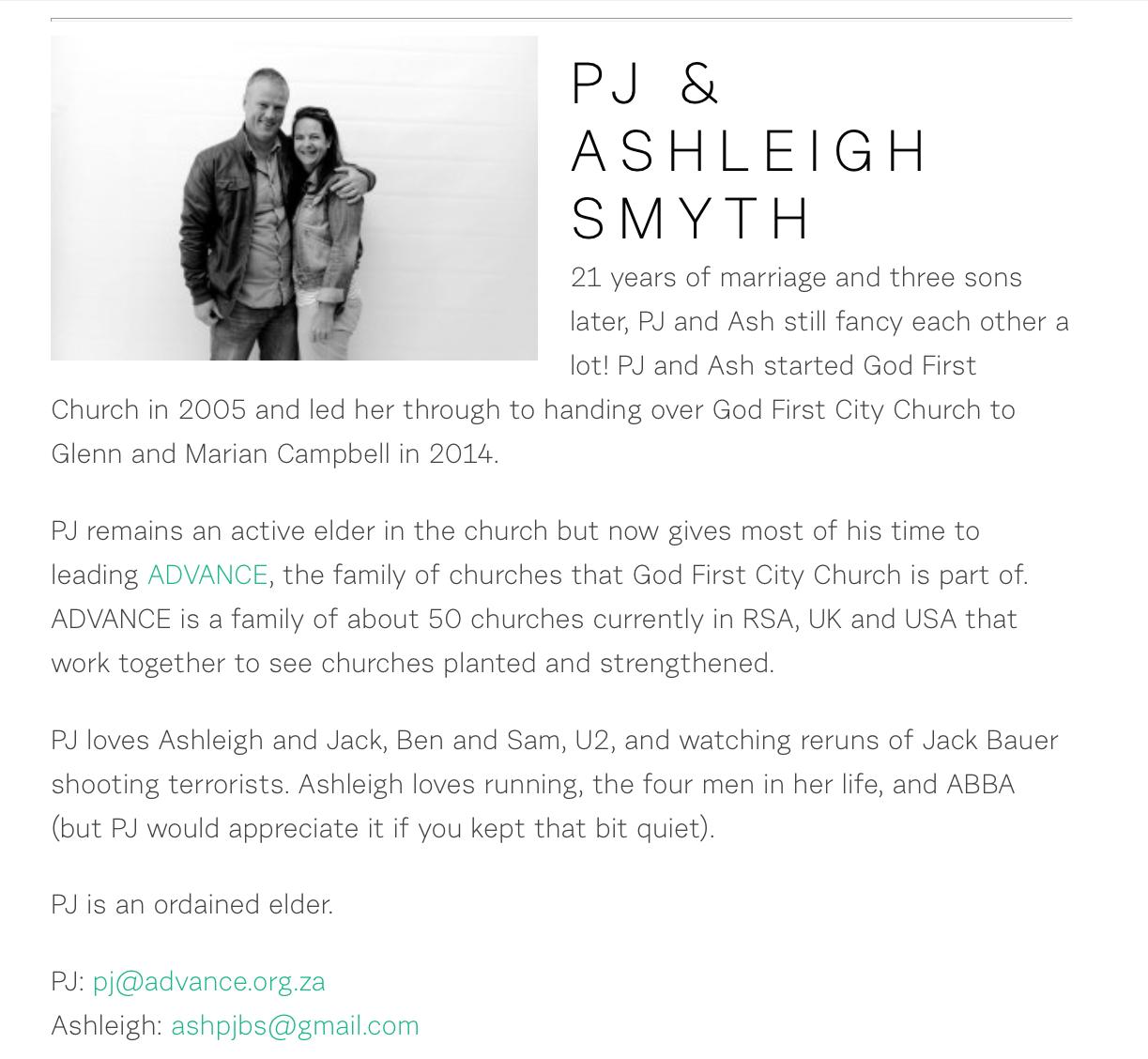 2016-02-04 PJ Smyth bio