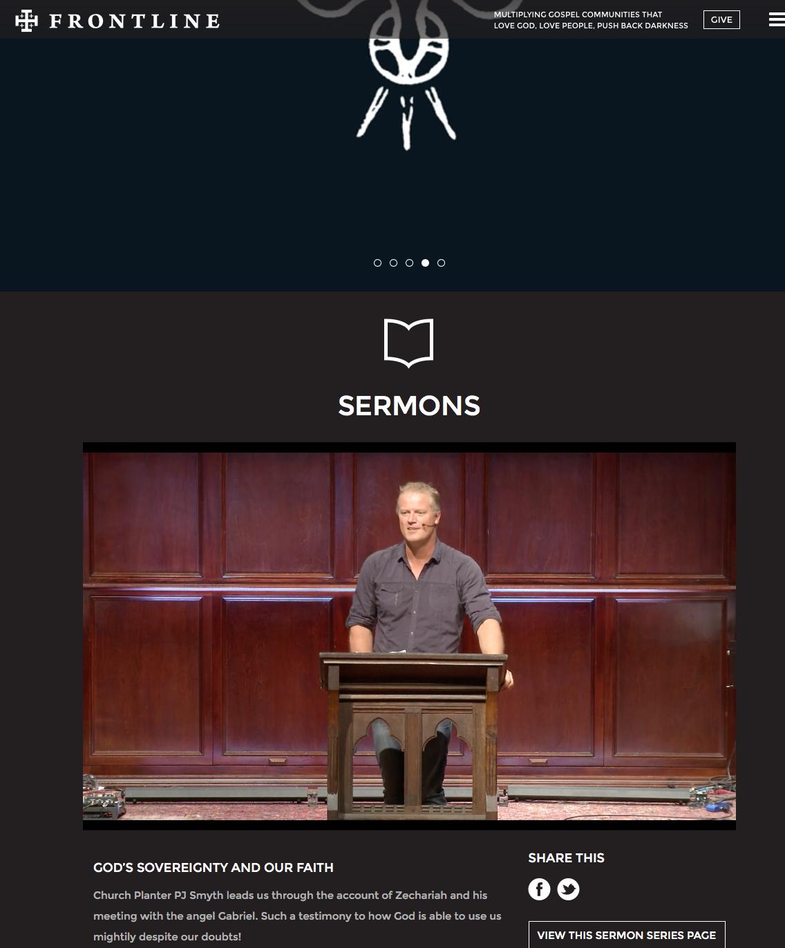 2016-02-04 PJ Smyth preaching at Frontline OKC 1-24-2106