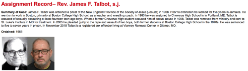 2016-02-19 Father James F. Talbot