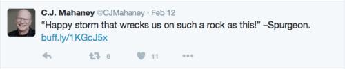 2016-02-22 Mahaney Spurgeon tweet 2