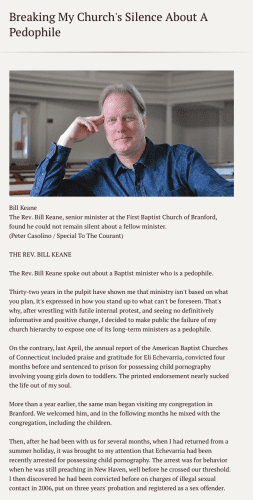 2016-03-23 Bill Keane speaks out