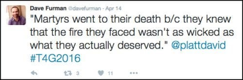 2016-04-21 Furman tweet on Platt -wacko