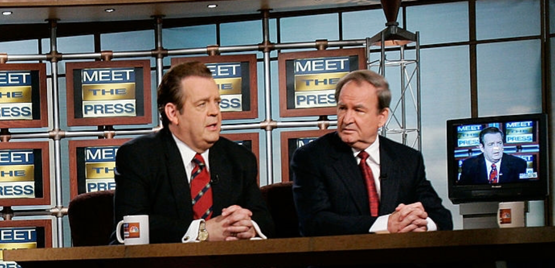 Southern Baptist ERLC President Richard Land & Patrick Buchanan on Meet The Press