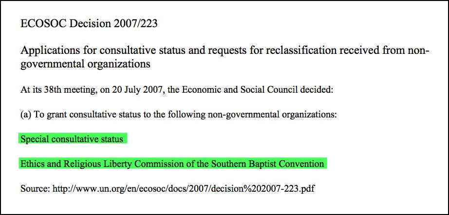 2016-10-14-un-ngo-special-consultative-status-to-erlc