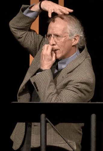 John Piper speaking at Sovereign Grace Churches Pastors Conference, 10-25-2016.