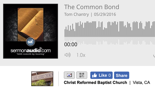 Tom Chantry's Jailhouse Talk With Recently Ordained ARBCA Pastor