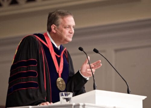 Dr. R. Albert Mohler, Jr. addresses SBTS for the Fall 2013 semester.