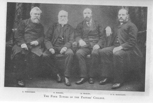 Four Instructors at C.H. Spurgeon's Pastors College